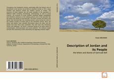 Portada del libro de Description of Jordan and its People