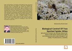 Bookcover of Biological Control Of Two Spotted Spider Mites