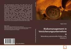 Bookcover of Risikomanagement in Versicherungsunternehmen