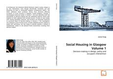 Social Housing in Glasgow Volume 1 kitap kapağı