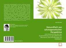 Buchcover von Gesundheit aus salutogenetischer Perspektive