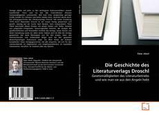 Portada del libro de Die Geschichte des Literaturverlags Droschl