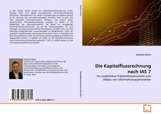 Copertina di Die Kapitalflussrechnung nach IAS 7