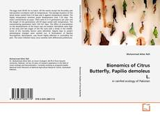 Bookcover of Bionomics of Citrus Butterfly, Papilio demoleus L.