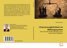 Buchcover von Chancenungleichheit im Bildungssystem