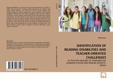Capa do livro de IDENTIFICATION OF READING DISABILITIES AND TEACHER-ORIENTED CHALLENGES