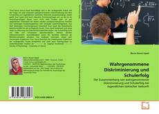 Wahrgenommene Diskriminierung und Schulerfolg kitap kapağı