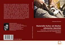 Bookcover of Materielle Kultur als Marker ethnischer Identität