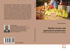 Bookcover of Market access and agricultural production