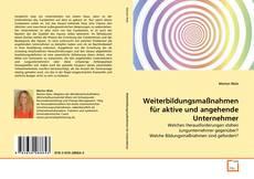Buchcover von Weiterbildungsmaßnahmen für aktive und angehende Unternehmer
