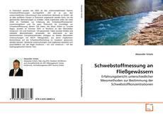 Couverture de Schwebstoffmessung an Fließgewässern