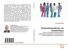 Bookcover of Unternehmenskultur im Krankenhaus