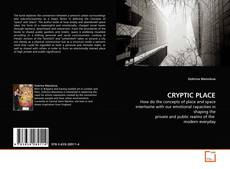 Bookcover of CRYPTIC PLACE