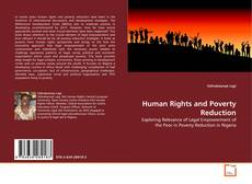 Bookcover of Human Rights and Poverty Reduction