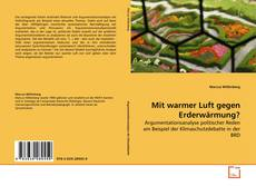 Bookcover of Mit warmer Luft gegen Erderwärmung?