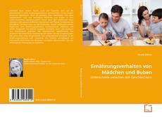 Capa do livro de Ernährungsverhalten von Mädchen und Buben
