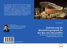 Capa do livro de Optimierung der Beschaffungslogistik für den Bau von Fährschiffen