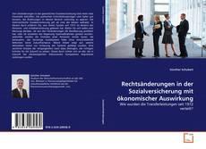 Bookcover of Rechtsänderungen in der Sozialversicherung mit ökonomischer Auswirkung