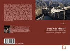 Bookcover of Does Price Matter?