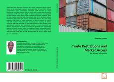 Bookcover of Trade Restrictions and Market Access