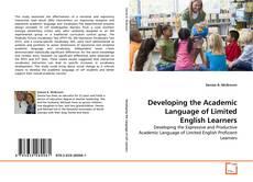 Borítókép a  Developing the Academic Language of Limited English Learners - hoz