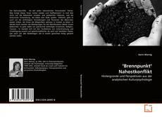 """Buchcover von """"Brennpunkt"""" Nahostkonflikt"""
