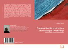 Buchcover von Comparative Reconstruction of Proto-Nguni Phonology