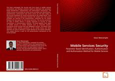 Buchcover von Mobile Services Security