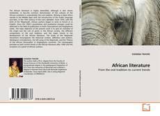 Capa do livro de African literature