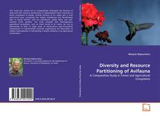 Bookcover of Diversity and Resource Partitioning of Avifauna