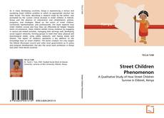 Capa do livro de Street Children Phenomenon