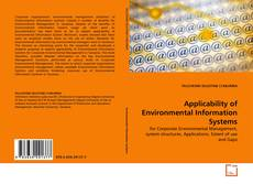 Bookcover of Applicability of Environmental Information Systems