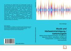 Copertina di Musik und Hörbeeinträchtigung / Gehörlosigkeit