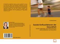 Обложка Soziale Einflussfaktoren der Gesundheit