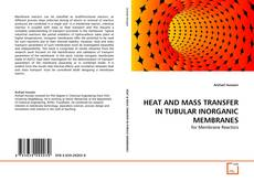 Buchcover von HEAT AND MASS TRANSFER IN TUBULAR INORGANIC MEMBRANES