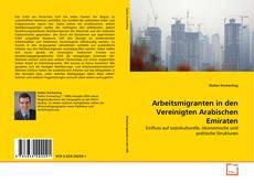 Borítókép a  Arbeitsmigranten in den Vereinigten Arabischen Emiraten - hoz
