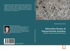 Couverture de Alternative Routes of Polysaccharide Acylation