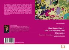 """Das Bassetthorn   Die """"Alt-Stimme"""" der Klarinette的封面"""