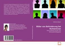 Bookcover of Bilder von Behinderung bei RichterInnen