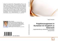 Обложка Projektmanagement in Rumänien im Vergleich zu Österreich