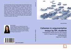 Buchcover von Cohesion in argumentative essays by EFL students