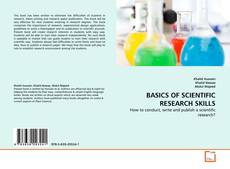 Capa do livro de BASICS OF SCIENTIFIC RESEARCH SKILLS