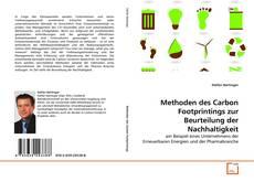 Borítókép a  Methoden des Carbon Footprintings zur Beurteilung der Nachhaltigkeit - hoz
