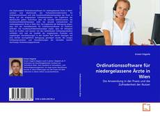 Capa do livro de Ordinationssoftware für niedergelassene Ärzte in Wien