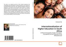 Couverture de Internationalisation of Higher Education in South Africa