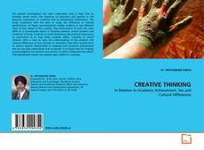 Bookcover of CREATIVE THINKING