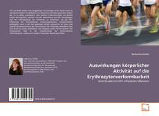 Portada del libro de Auswirkungen körperlicher Aktivität auf die Erythrozytenverformbarkeit