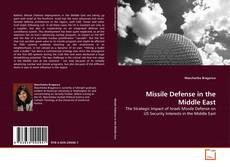 Bookcover of Missile Defense in the Middle East