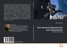 Buchcover von Vom Hochschulabsolventen zum Unternehmer