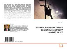 Bookcover of CRITERIA FOR PROMOTING A REGIONAL ELECTRICITY MARKET IN SEE